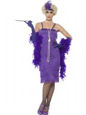 Purple Flapper Costume